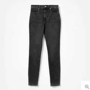 Everlane stretch skinny high rise jeans